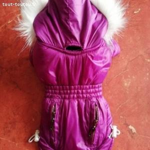 Lots de manteaux pour chien